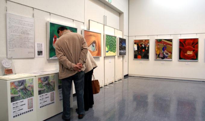 熊野高等学校芸術類型 美術書道コース作品展