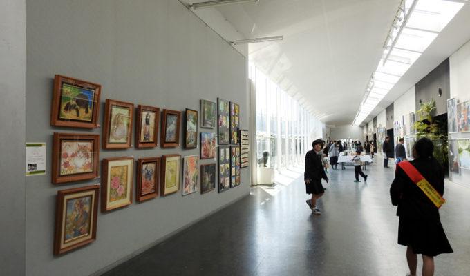 広島市立基町高等学校創造表現コース・美術部 修了作品展