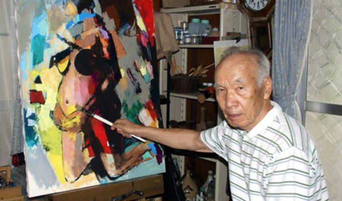 第66回アトリエ訪問   画家 竹廣國敬