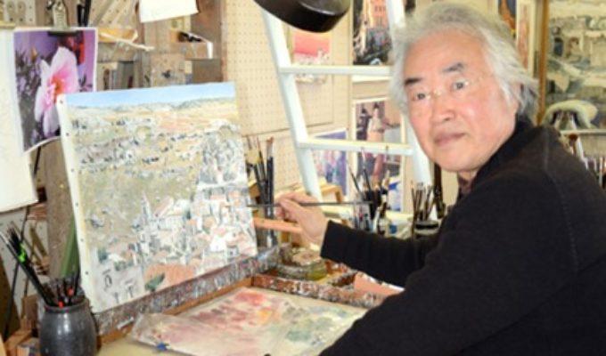 第73回アトリエ訪問 画家 迫田嘉弘