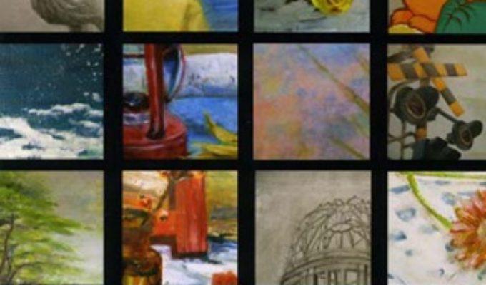 広島市立基町高等学校 創造表現コース 生徒作品展 会場風景