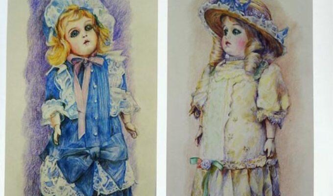 安森征治絵画展 西洋人形たち